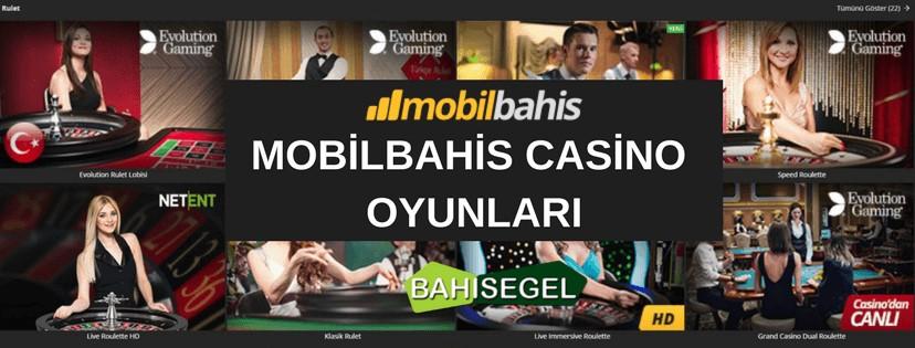 Mobilbahis Casino Oyunları