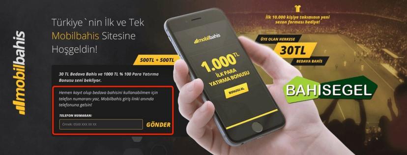 Mobilbahis Hoşgeldin Bonusu 1000 TL